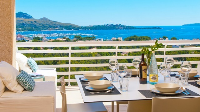 Attics and penthouses for sale in Port de Pollensa